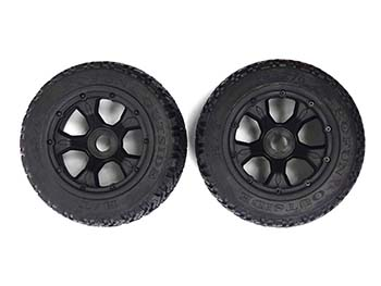 1/5 Baja Terminator Rear Truck Road Wheels (set of 2)