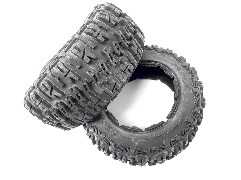 New Rovan 1 5 Scale Excavator Tires Wheels 195x80 Fits Hpi Baja 5t Rear Size 2