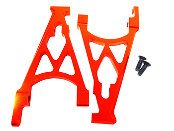 Orange CNC Aluminum Rear Shock Towers (set of 2)
