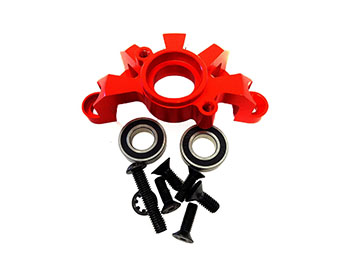 HD Baja CNC Aluminum V2 Clutch Brace (orange/red)
