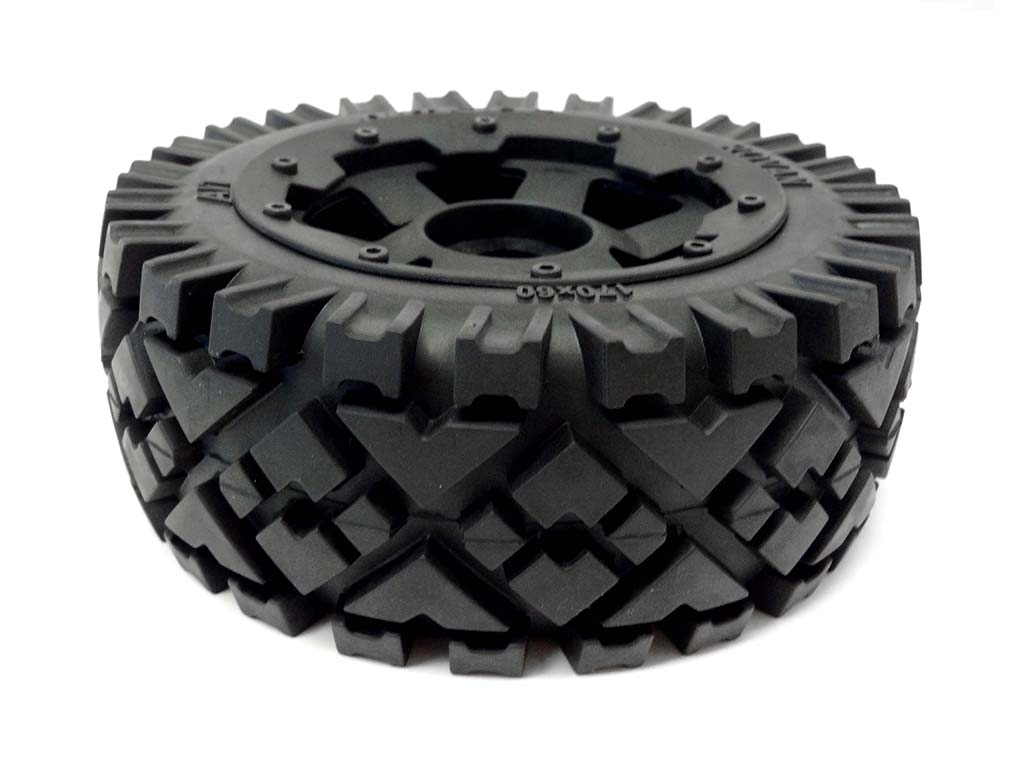 1 5 Scale Baja Buggy Front Mounted All Terrain Tires On 6 Sp