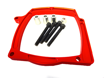 CNC Aluminum Pull Start Motor Cover Brace (orange)
