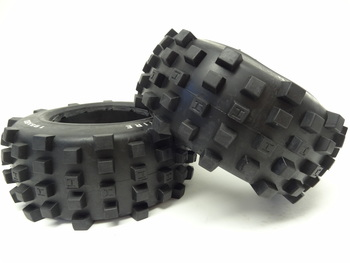 Rear Baja Truck Knobby Tires [195x80] (Set of 2)