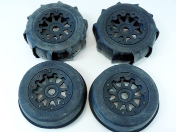 Baja Truck Sand Wheels on 10 Spoke HD Rims (set of 4)