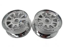 1/5 Baja 5B 5T 5SC Front Chrome Wheels, Rims