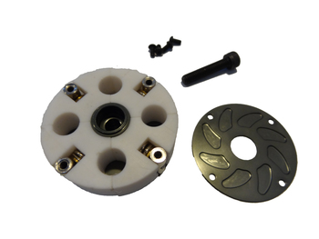 Four Shoe Teflon Adjustable Clutch System (gun metal)