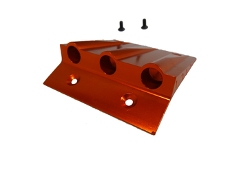 Aluminum, Alloy Roof Scoop (orange)