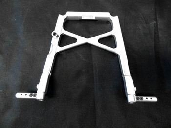 CNC Aluminum Center Roll Cage Support Brace (silver)