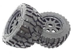 Rear Gravel All Terrain Wheels (set of 2)