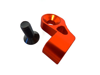 CNC Aluminum Alloy Motor, Transmission Mount (orange)