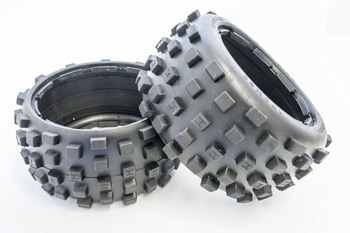 Rear Baja Buggy Knobby Off Road Heavy Duty Belted Tires (170X80)
