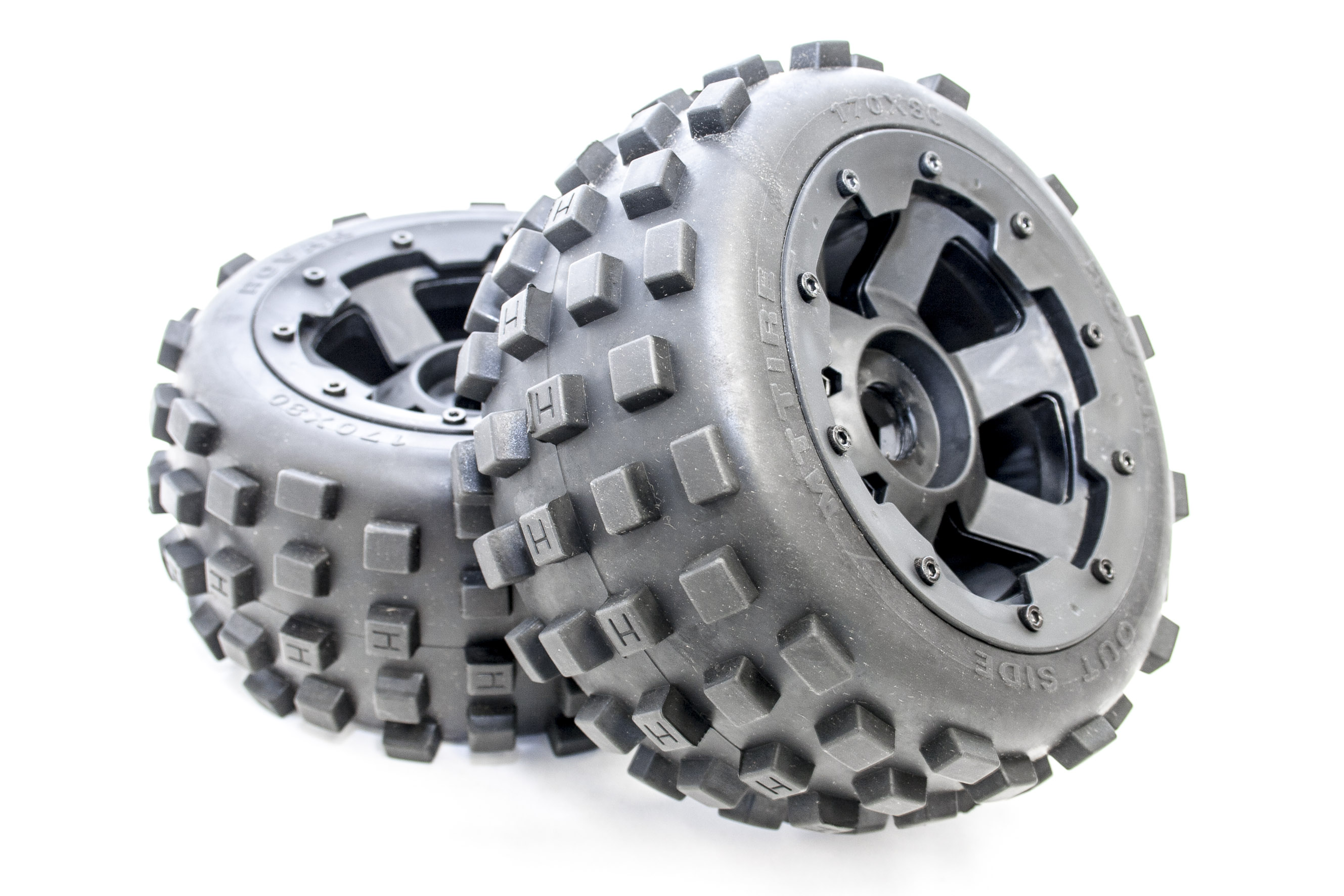 New Rovan Knobby Tires Anti-Growth Mesh Fits HPI Baja 5B SS 2.0 King Motor Buggy