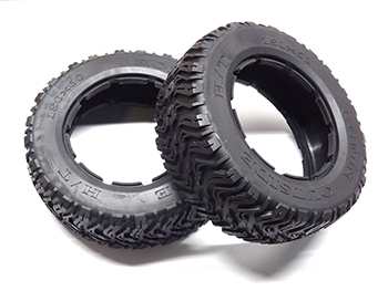 Rovan 5T 5SC 5FT Front Dirt, Road, All terrain style Tires 180x60  (set of 2)
