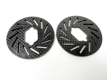 LT, SLT Carbon Fiber Brake Rotors (set of 2)
