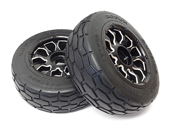 LT SLT Buggy & Truck Tires on Aluminum Wheels (set of 2)