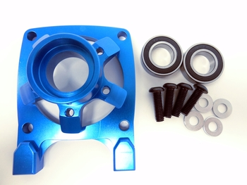LT-SLT CNC Aluminum High Flow Clutch Bell Brace (blue)