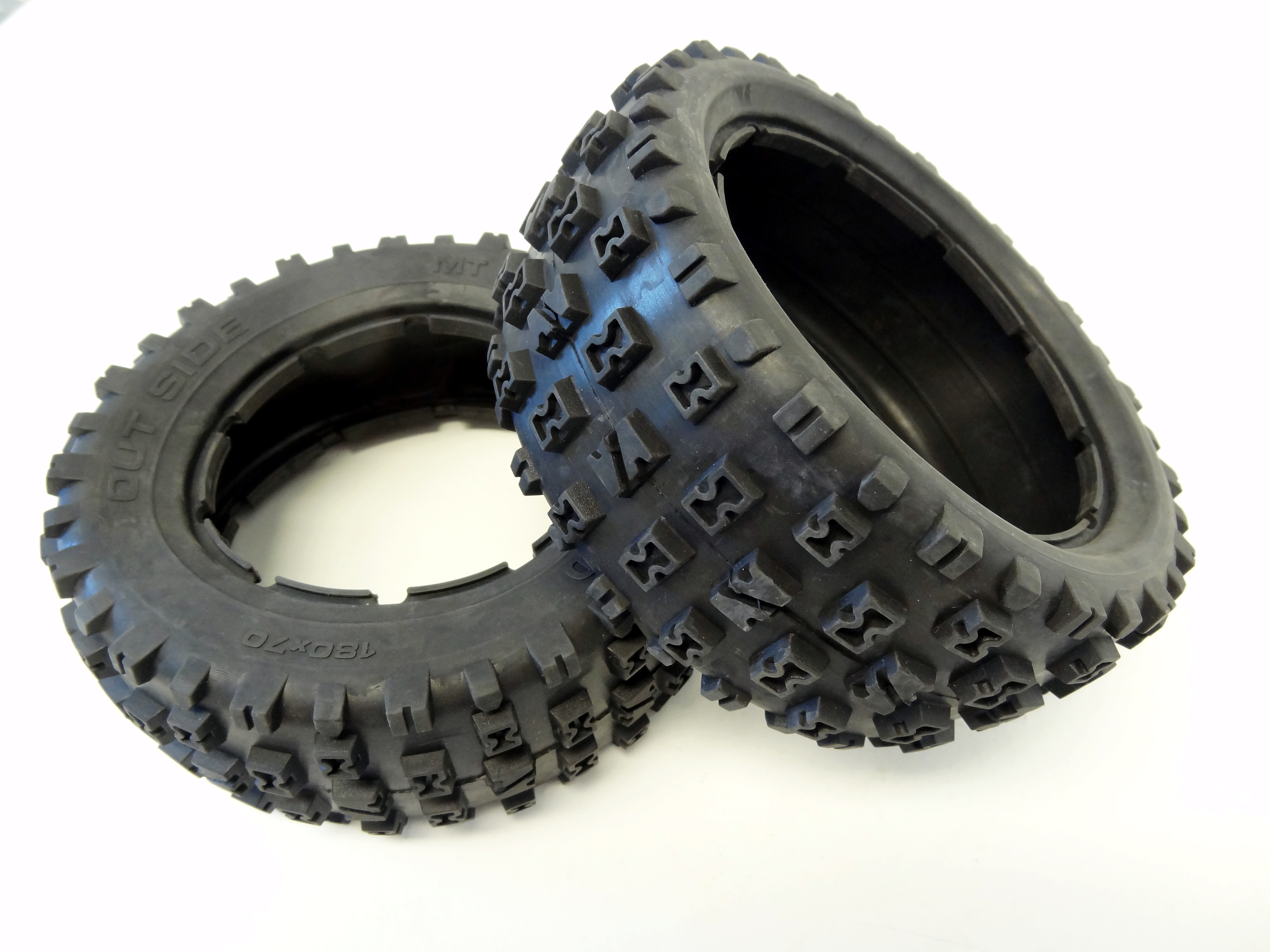 LT and SLT Knobby Bow-Tie Off Road Tires (set of 2)