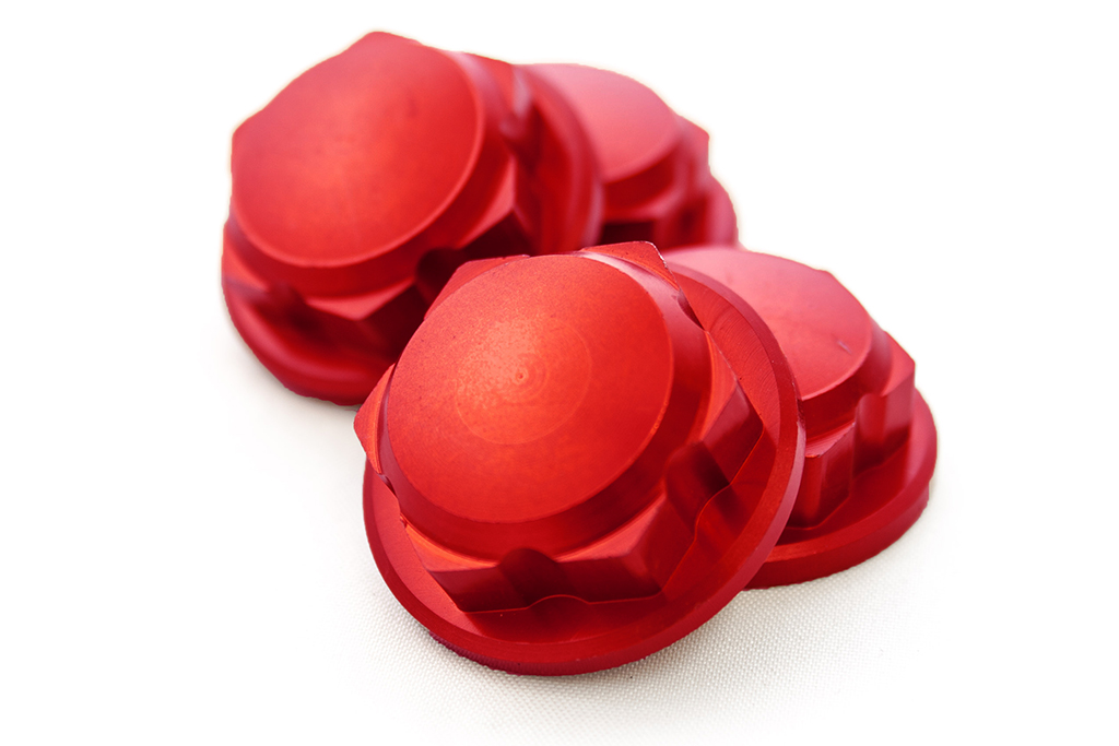 LT, SLT Enclosed CNC Aluminum Wheel Nuts
