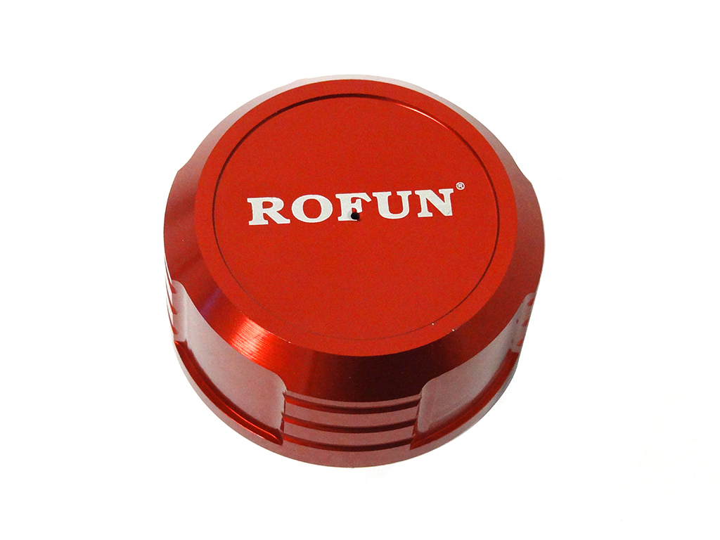 CNC Aluminum LT / SLT V5 Gas Cap (red-orange)