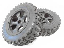 1/5 GEN 3 MT Boe-Tie Belted/waterproof Dirt Knobby LT Tires/Wheels 180x70