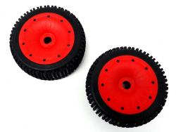Rovan 1/5 LT SLT V5 Mini Pin Off-Road Tires with Sealed Beadlocks (Fits LOSI 5ive-B, DBLX)