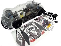1/5 Scale F5 4WD On-Road Race Car (GAS ENGINE Ready ROLLER)