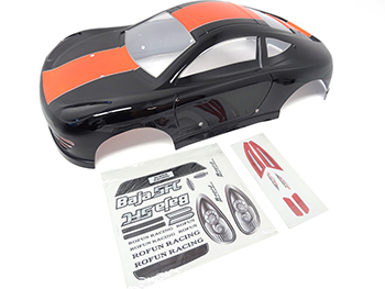 1/5 Scale 5FC Porsche V2 Car Body (black)