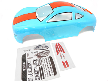 1/5 Scale 5FC Porsche V2 Car Body (blue)