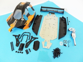 SLT Complete 4WD Truck to SWB 4WD Buggy Conversion Kit