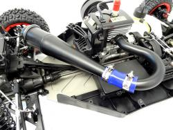 Bruiser RC Sidewinder Tuned Exhaust Pipe Fit King Motor X2 LOSI 5IVE-T Rovan LT
