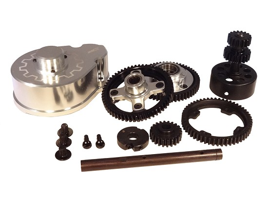 King Motor Baja V2 2-Speed Kit (silver)