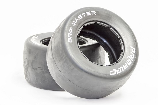 QS Rear Racing Slick Belted Tires (set of 2)