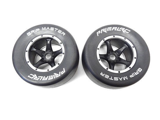QS Rear Racing Slick Wheels & Tires (set of 2)
