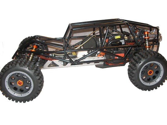 Steel Metal Buggy Sand Rail Roll Cage (black)