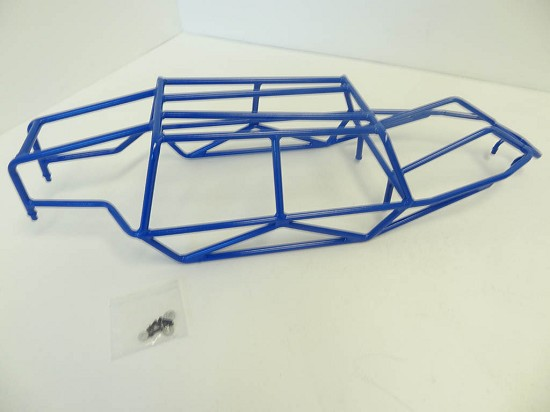 Steel Metal Buggy Sand Roll Cage (blue)