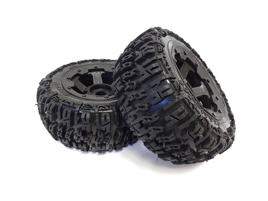 Rovan Rear 1/5 Baja Truck Knobby Wheels