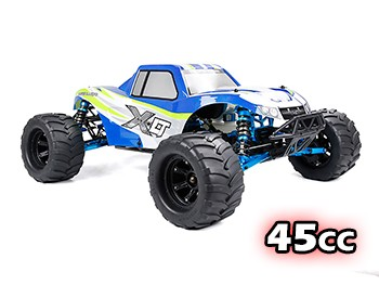 NEW 45cc High Performance RTR XLT450 4WD Monster Truck (Blue)
