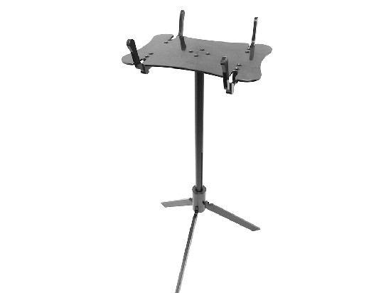 CNC Rotating Aluminum Work Show Stand (silver)