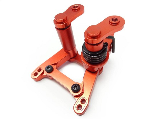 CNC Aluminum HD Steering Arm Kit (orange)