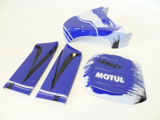 Panel Kit for Internal Roll Cage (blue/white)