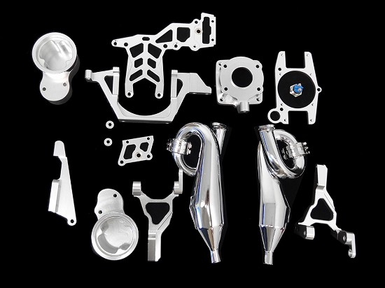 Baja Twin Engine Mounting Kit & Shock Towers & Pipes