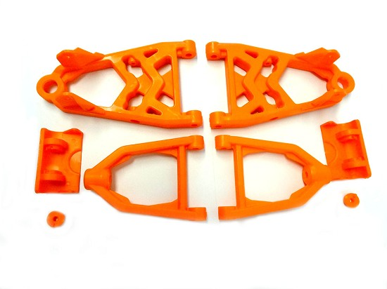 Nylon V2 Front Suspension Arm Kit (orange)