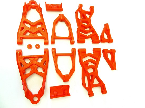Baja Nylon Upgraded Suspension Arm Kit (red)