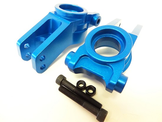 LT SLT Blue CNC Aluminum Rear Hubs (set of 2)