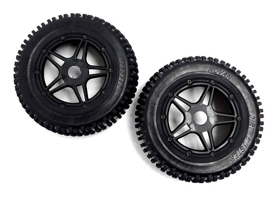 F5 Race Car 170x60 On-Road Mounted Mini Pin Tires