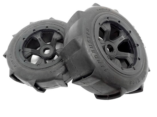 1/5 Baja Truck Rear Sand Paddle Wheels Tires (2)