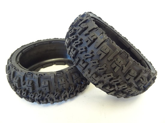 Buggy Front Off Road Excavator Tires  (set of 2)