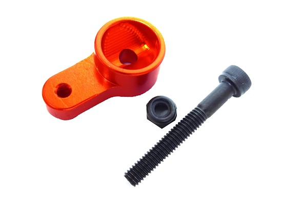 Aluminum Alloy Steering Servo Saver Arm (orange)